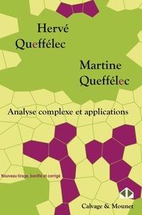 Analyse complexe et applications- Cours et exercices - Hervé Queffélec pdf epub