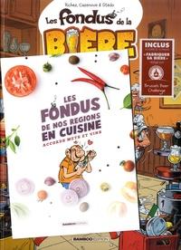 Hervé Richez et Christophe Cazenove - Les fondus de la bière - Avec un livret de recettes offert.
