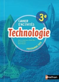 Hervé Riou et Alain Caignot - Technologie 3e - Cahier d'activités.