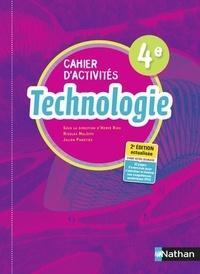 Hervé Riou et Nicolas Malesys - Technologie 4e Cahier d'activités.