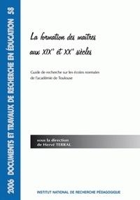 Feriasdhiver.fr La formation des maîtres aux XIXe et XXe siècles - Guide de recherche sur les écoles normales de l'académie de Lyon Image