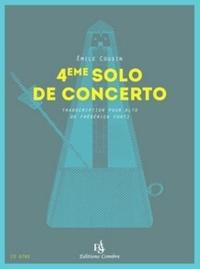 Emile Cousin - 4ème solo de concerto.