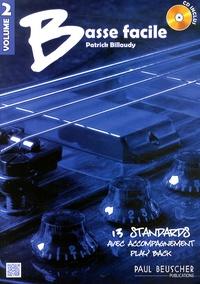 Patrick Billaudy - Basse facile - Volume 2. 1 CD audio