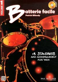 Batterie facile - Volume 1, 13 standards avec accompagnement play back.pdf