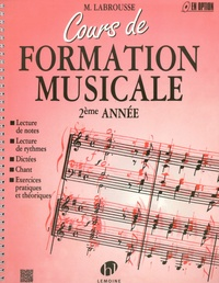 Marguerite Labrousse - Cours de formation musicale 2e année.