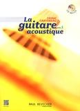 Cédric Cartereau - La guitare acoustique - Volume 1. 1 CD audio