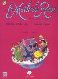 Ernest Van de Velde - La Méthode Rose - Première année de piano. 1 CD audio