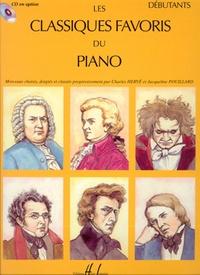 Charles Hervé et Jacqueline Pouillard - Les classiques favoris du piano - Débutants.