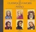 Editions Henry Lemoine - Les classiques favoris du piano - Débutants. 1 CD audio
