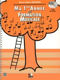 Marie-Hélène Siciliano - Ma 1ere année de formation musicale.
