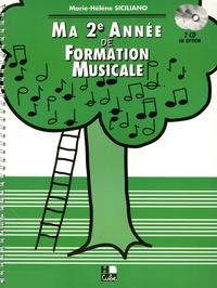 Marie-Hélène Siciliano - Ma 2e année de formation musicale.