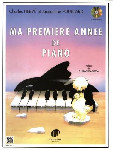 Charles Hervé et Jacqueline Pouillard - Ma premiere année de piano.