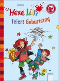 Hexe Lilli feiert Geburtstag - Hexe Lilli für Erstleser.