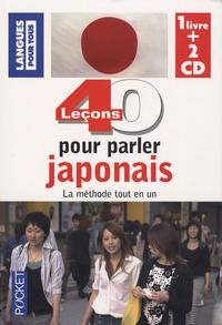 Hidenobu Aïba - 40 leçons pour parler japonais. 2 CD audio