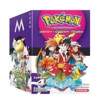Hidenori Kusaka et Satoshi Yamamoto - Pokémon la grande aventure Intégrale : Coffret en 4 volumes - Tomes 1 et 2, Rouge Feu et Vert Feuille ; Tomes 3 et 4, Emeraude.