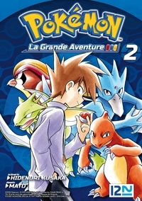 Hidenori Kusaka et  Mato - Pokémon la grande aventure Tome 2 : .