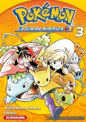 Pokémon la grande aventure Tome 3