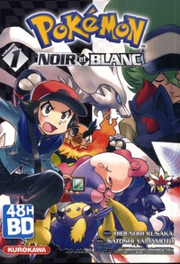 Hidenori Kusaka et Satoshi Yamamoto - Pokémon noir et blanc Tome 1 : 48H BD 2021.