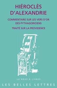Commentaire sur les Vers d'or des pythagoriciens- Traité sur la providence -  Hiéroclès d'Alexandrie | Showmesound.org