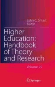 John C. Smart - Higher Education: Handbook of Theory and Research 25.