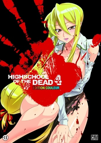 Highschool of the Dead Couleur T04 - 9782811608477 - 9,99 €