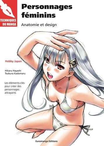 Hikaru Hayashi et Tsubura Kadomaru - Personnages féminins - Anatomie et design.