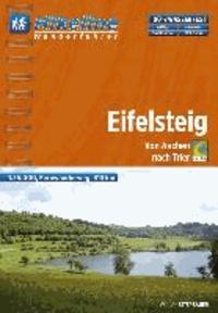 Hikeline Wanderführer Fernwanderweg Eifelsteig - Von Aachen nach Trier / Wanderführer und Karten 1: 35 000.
