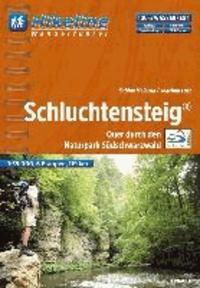Hikeline Wanderführer Fernwanderweg Schluchtensteig - Quer durch den Naturpark Südschwarzwald.