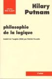 Hilary Putnam - Philosophie de la logique.