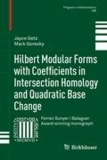 Hilbert Modular Forms with Coefficients in Intersection Homology and Quadratic Base Change.