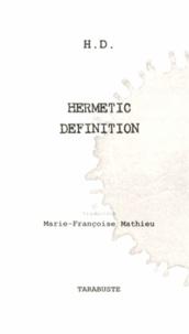 Hilda Doolittle - Hermetic Definition.