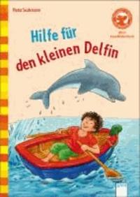 Hilfe für den kleinen Delfin.