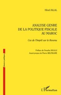 Hind Jalal - Analyse genre de la politique fiscale au Maroc - Cas de l'Impôt sur le Revenu.