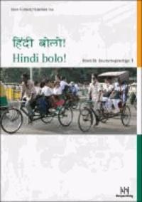 Hindi bolo! Teil 1. Lehrbuch mit CD - Hindi für Deutschsprachige.