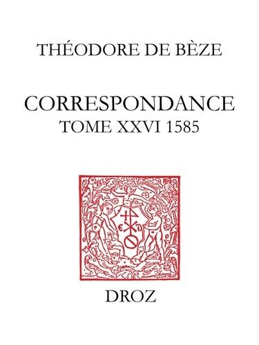 Correspondance 26