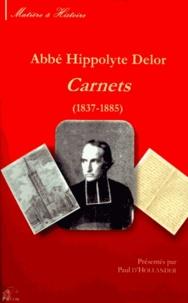 Hippolyte Delor - Carnets (1837-1885). 1 Cédérom