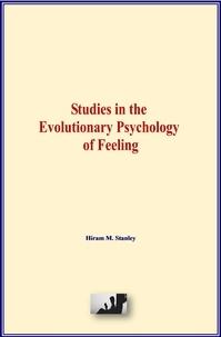 Livres anglais gratuits, téléchargement audio Studies in the Evolutionary Psychology of Feeling 9782366597974