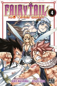 Hiro Mashima et Atsuo Ueda - Fairy Tail - 100 years quest Tome 4 : .