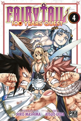 Fairy Tail - 100 years quest Tome 4