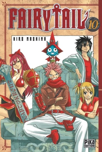 Fairy Tail T10 - 9782811607715 - 4,49 €