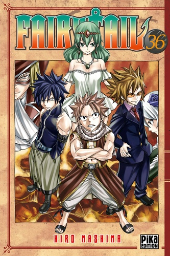 Fairy Tail Tome 36 Tankobon