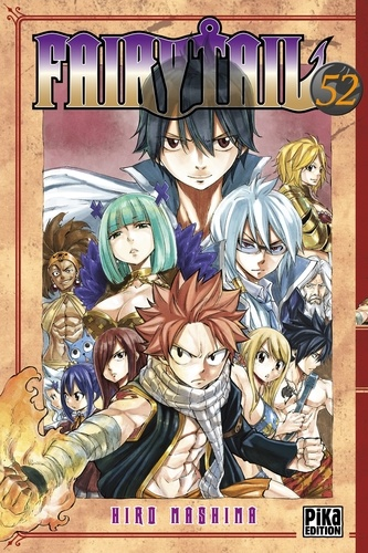 Fairy Tail Tome 52 Tankobon