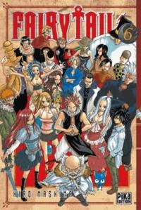 Hiro Mashima - Fairy Tail Tome 6 : .