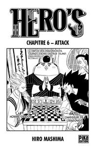 Hiro Mashima - Hero's Chapitre 6 - Attack.