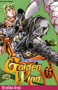 Hirohiko Araki - Jojo's Bizarre Adventure - Golden Wind Tome 15 : .