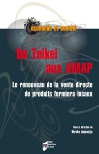 Hiroko Amemiya - Du Teikei aux AMAP - Le renouveau de la vente directe de produits fermiers locaux.