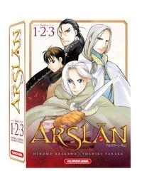 Hiromu Arakawa et Yoshiki Tanaka - The Heroic Legend of Arslân Tomes 1 à 3 : .