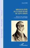 Hiroshi Mori - Bibliographie de Claude-Henri de Saint-Simon.