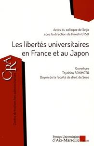Hiroshi Otsu - Les libertés universitaires en France et au Japon.