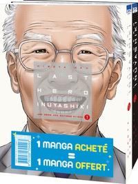Hiroya Oku - Last Hero Inuyashiki  : Pack en 2 volumes : tomes 1 et 2 - Dont tome 2 offert.